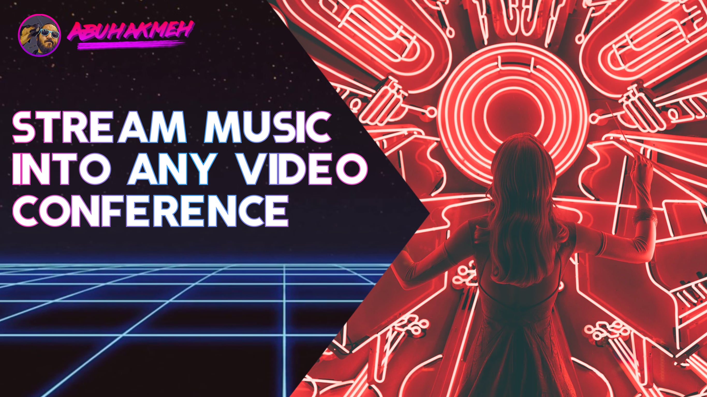 Stream Music Into Any Video Conference
